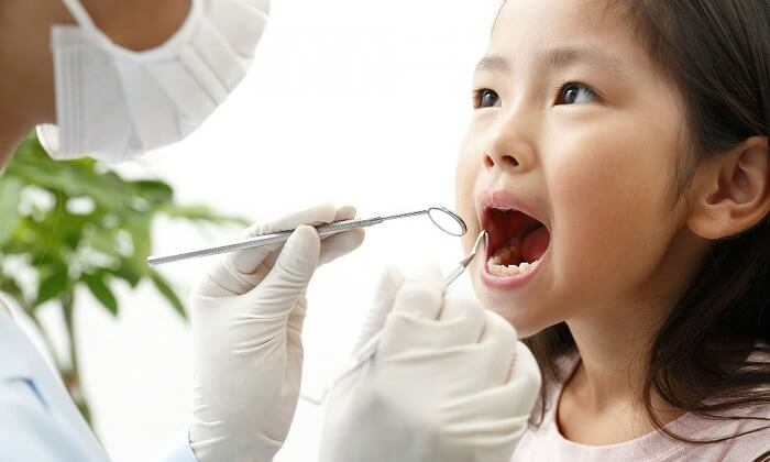 お子様の歯並びについて